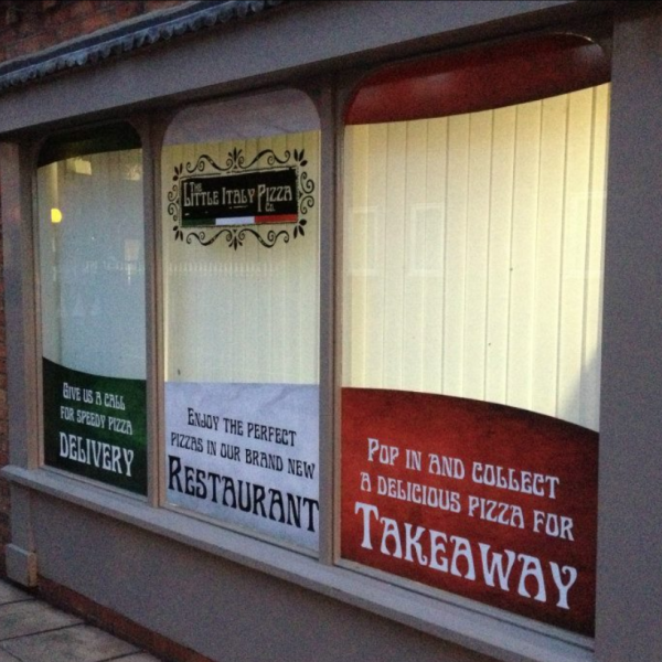Lincoln Shop Signs and Stickers Printing
